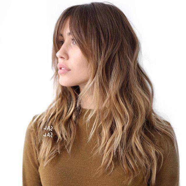 Haarschnitt Lang  Frisuren Lange Haare 2017 Ovale Gesichter Haarschnitt 2017