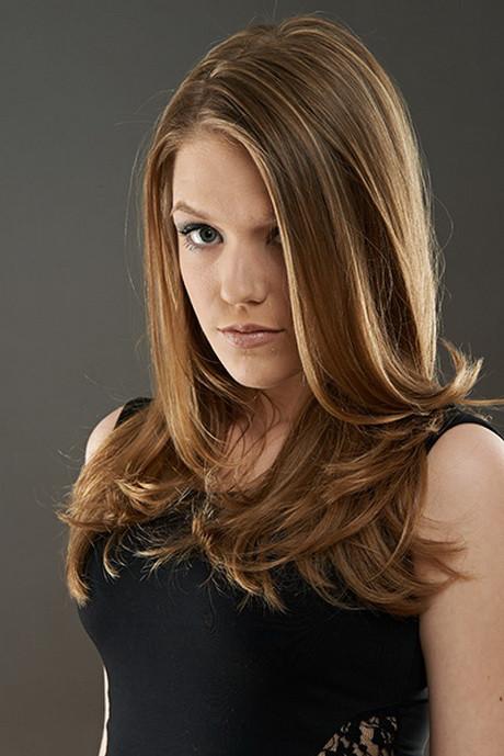Haarschnitt Lang  Stufiger haarschnitt