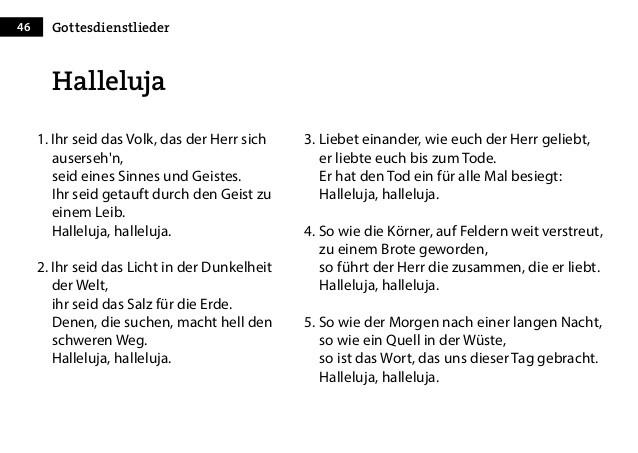 Hallelujah Deutsch Hochzeit  Hallelujah Deutscher Text Hochzeit