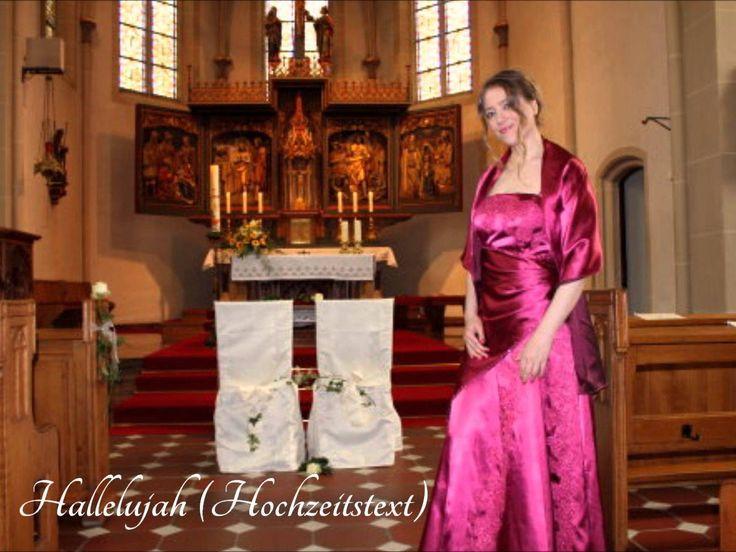 Hallelujah Deutsch Hochzeit  Hallelujah Deutsch eigener Hochzeitstext Hochzeitsversion