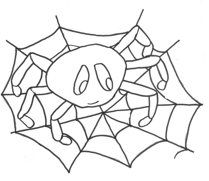 top 20 halloween ausmalbilder spinne  beste wohnkultur