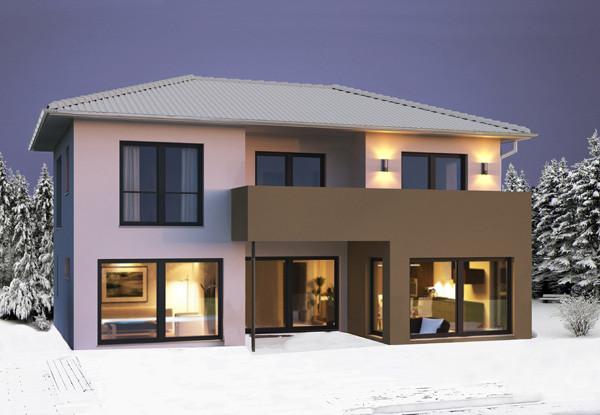 Hanlo Haus  Weniger Heizen im Winter