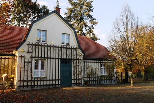 Hans Fallada Haus  At the end of the road – the Hans Fallada Haus Carwitz