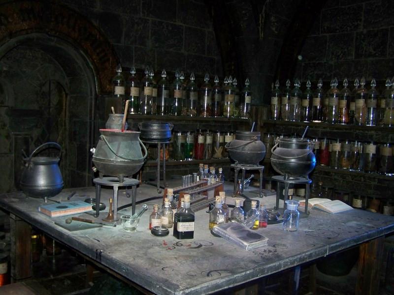 Harry Potter Zaubertränke  [London intensiv 15 09 13] Harry Potter und alles mögliche