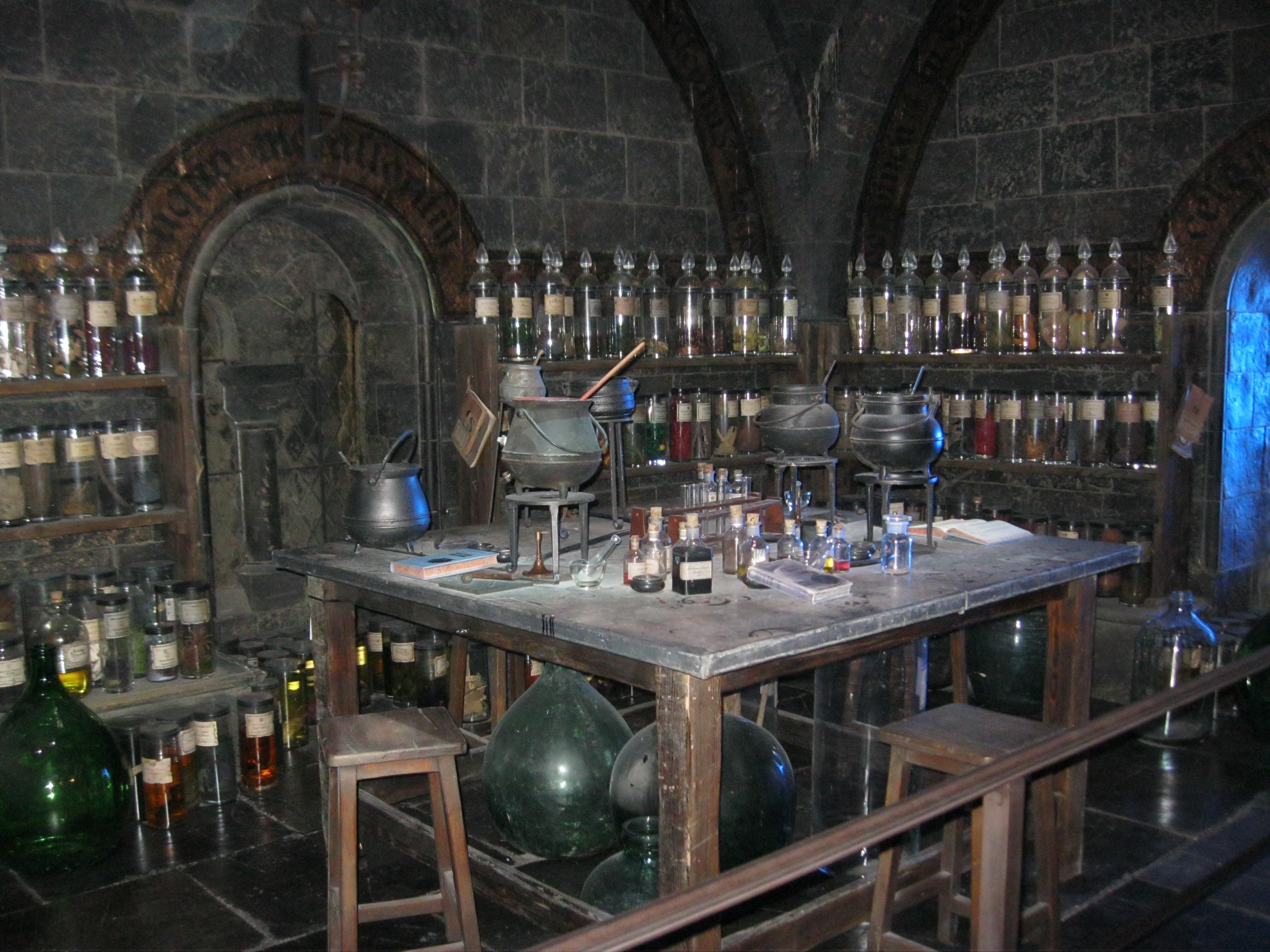Harry Potter Zaubertränke  Christinas Harry Potter Studiotour