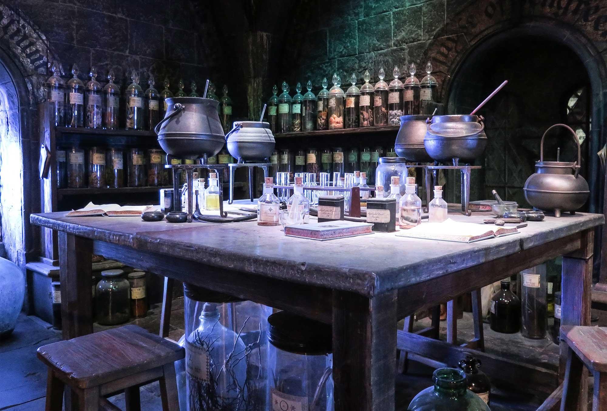 Harry Potter Zaubertränke  School of Magic Escape Room Novi