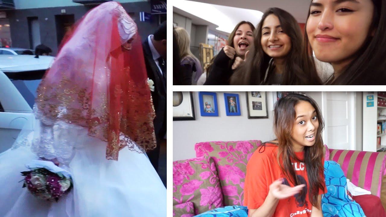 Hatice Schmidt Hochzeit  Aufmarsch der rinnen kurdische Hochzeit Vlog