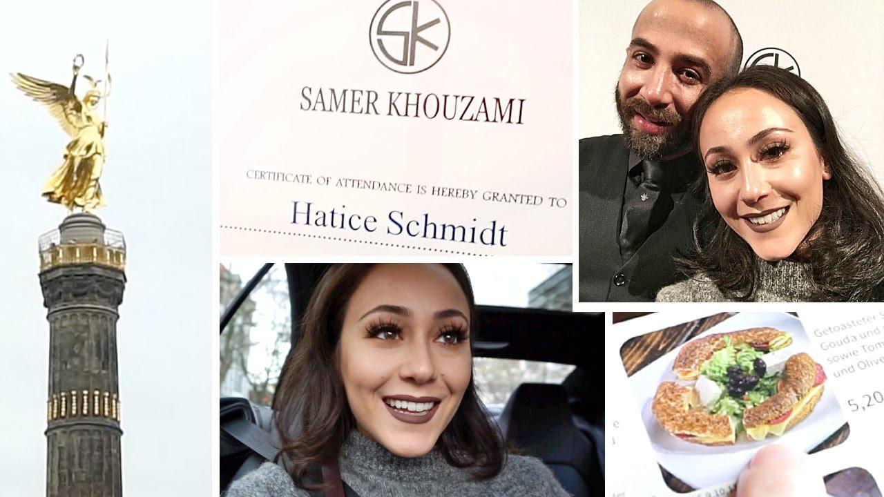 Hatice Schmidt Hochzeit  Vlog Samer Khouzami Dream Tour