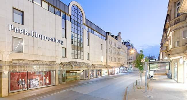 Haus 42 Wiesbaden  Peek & Cloppenburg Filialen P und C