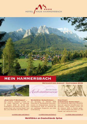 Haus Hammersbach  Hammersbacher Pferdesportfreunde News
