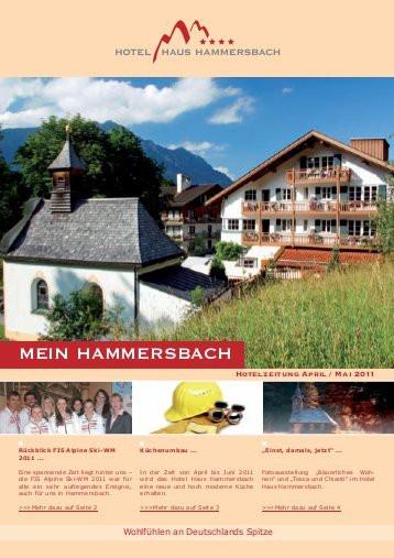 Haus Hammersbach  MEIN HAMMERSBACH Hotel Haus Hammersbach