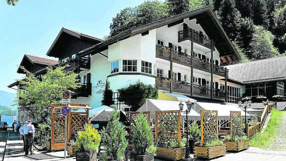 Haus Hammersbach  Verkaufs Gerüchte um Haus Hammersbach in Grainau