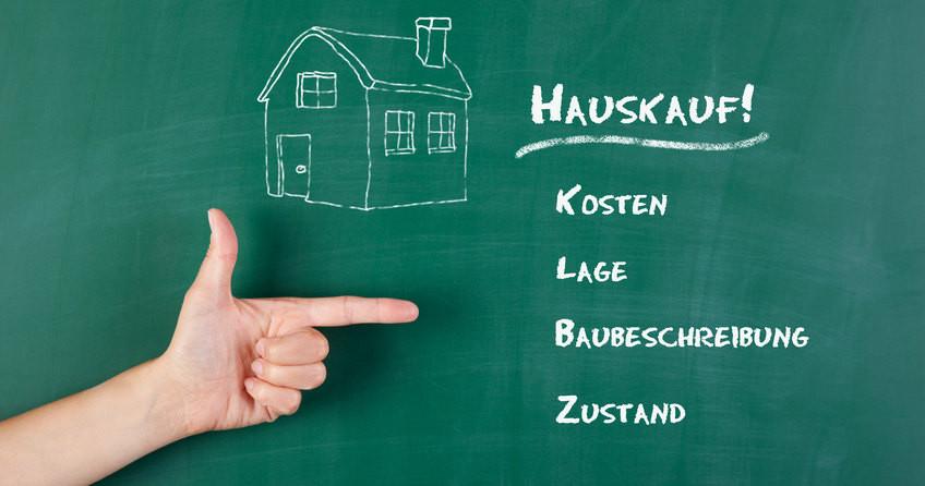 Haus Kauf  Checkliste Hauskauf