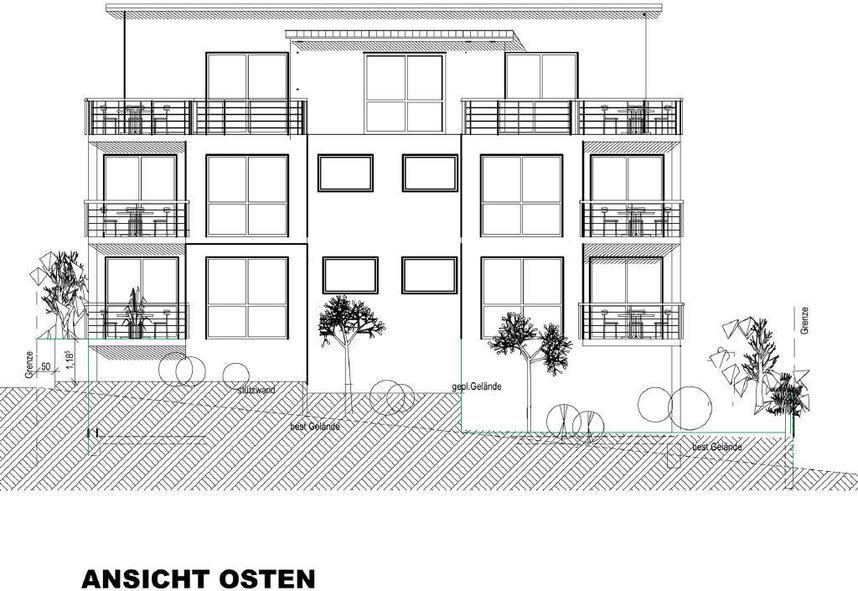 Haus Kaufen Bopfingen  NEUBAU Erdgeschosswohnung mit Balkon in Bopfingen
