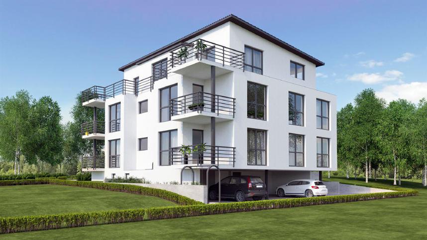Haus Kaufen Bopfingen  NEUBAU Penthousewohnung im 5 Familienhaus in Bopfingen