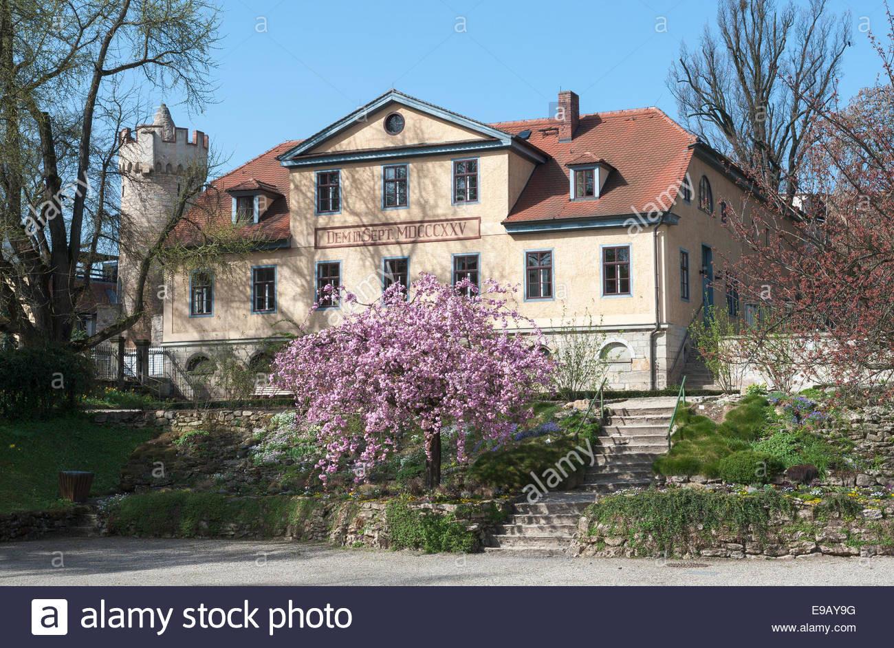 Haus Kaufen Jena  Inspektor Haus mit Goethe Gedenkstätte im Botanischen