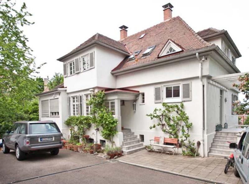 Haus Kaufen Stuttgart  Liebevoll saniertes Villenanwesen am Killesberg