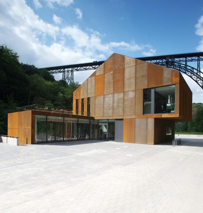 Haus Müngsten  Haus Müngsten im Brückenpark bei Solingen