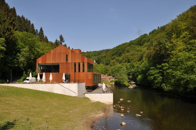 Haus Müngsten  Wupperweg Etappe 5 Müngstener Brücke Wipperkotten