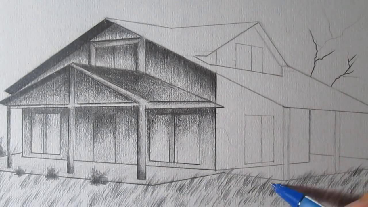 Haus Zeichnen  Haus Zeichnen 3D