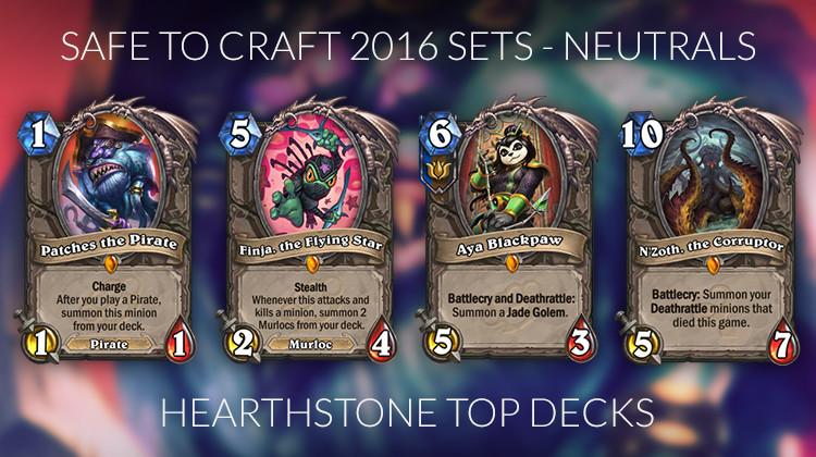 Hearthstone Meta Decks  Hearthstone Crafting Guide for the Journey to Un Goro Meta