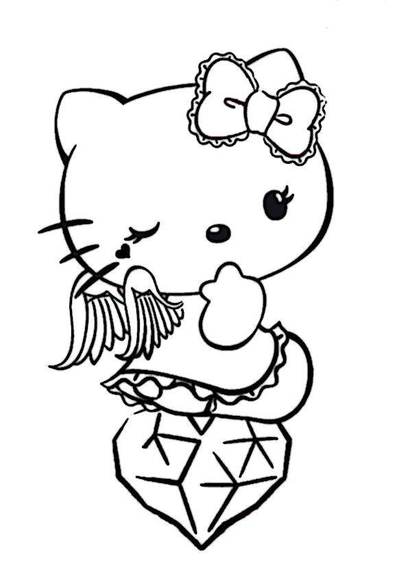 Hello Kitty Ausmalbilder  Ausmalbilder Hello Kitty Teufel 949 Malvorlage Hello Kitty