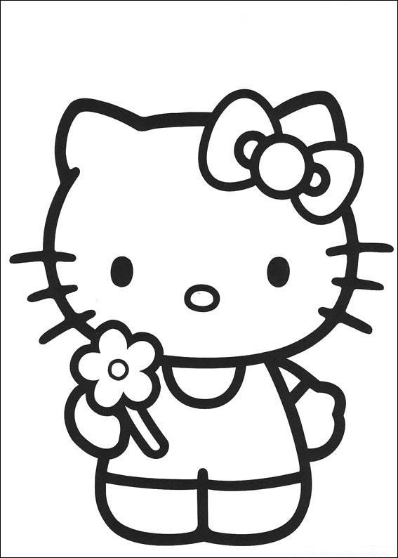 Hello Kitty Ausmalbilder  Hello Kitty malvorlagen 19