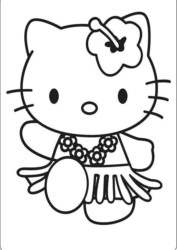 Hello Kitty Ausmalbilder  Ausmalbilder Hello kitty 31