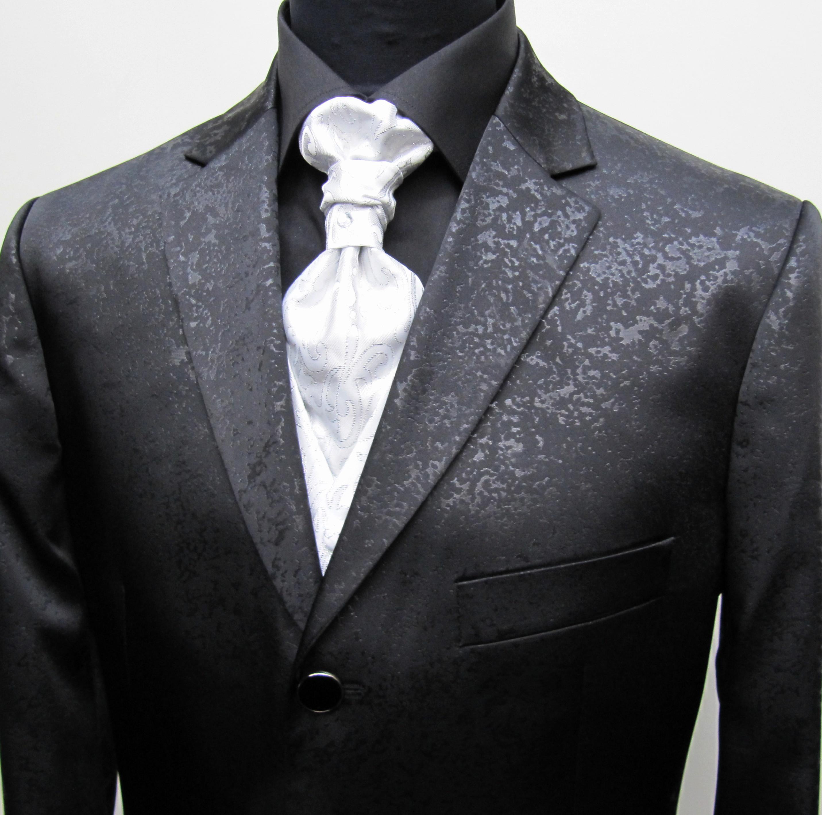 Herrenanzug Hochzeit  GEORGE BRIDE Herren Anzug 5 Teilig Anzug Sakko Weste Anzug