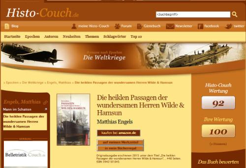 Histo Couch  Die heiklen Passagen…auf Histo Couch