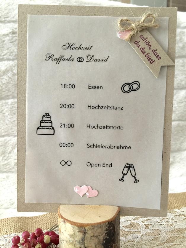 Hochzeit Ablauf  Hochzeit Zeitplan Ablauf Hochzeit Vintage Hochzeit