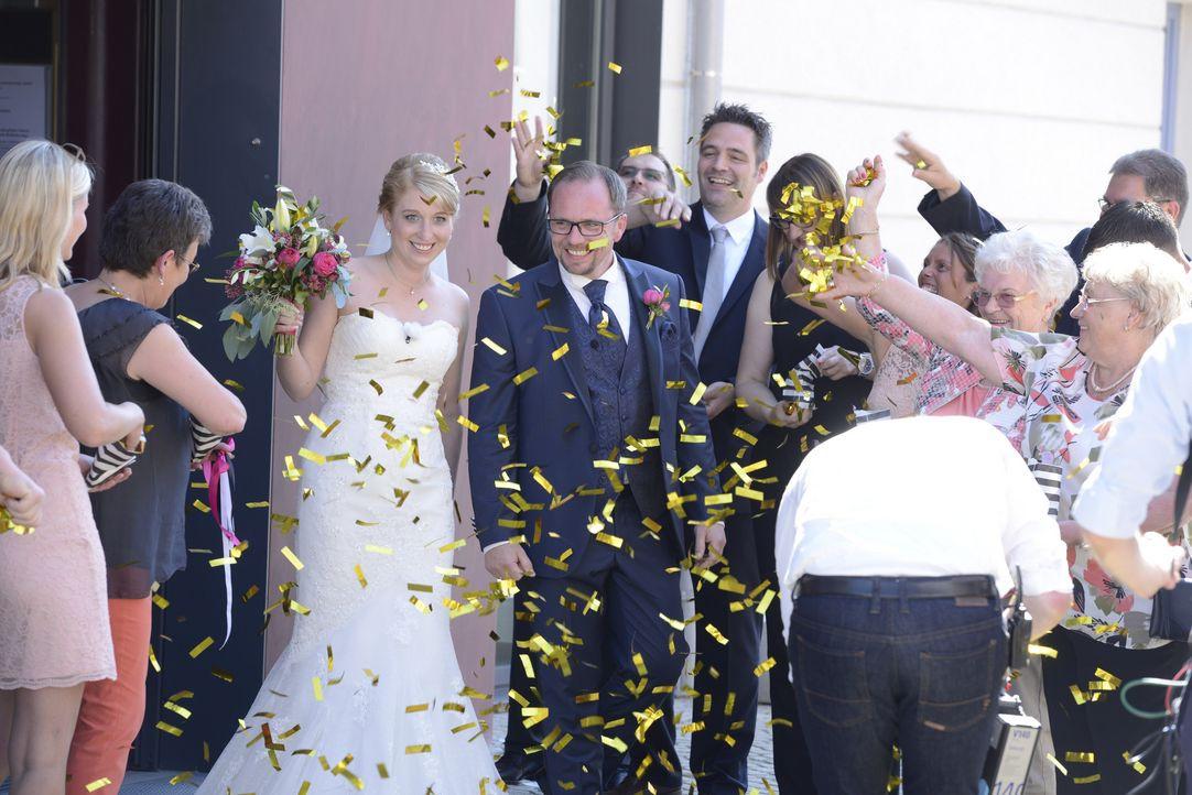 Hochzeit Auf Den Ersten Blick Kathrin Und Ingo  Hochzeit auf den ersten Blick Die schönsten Bilder aus