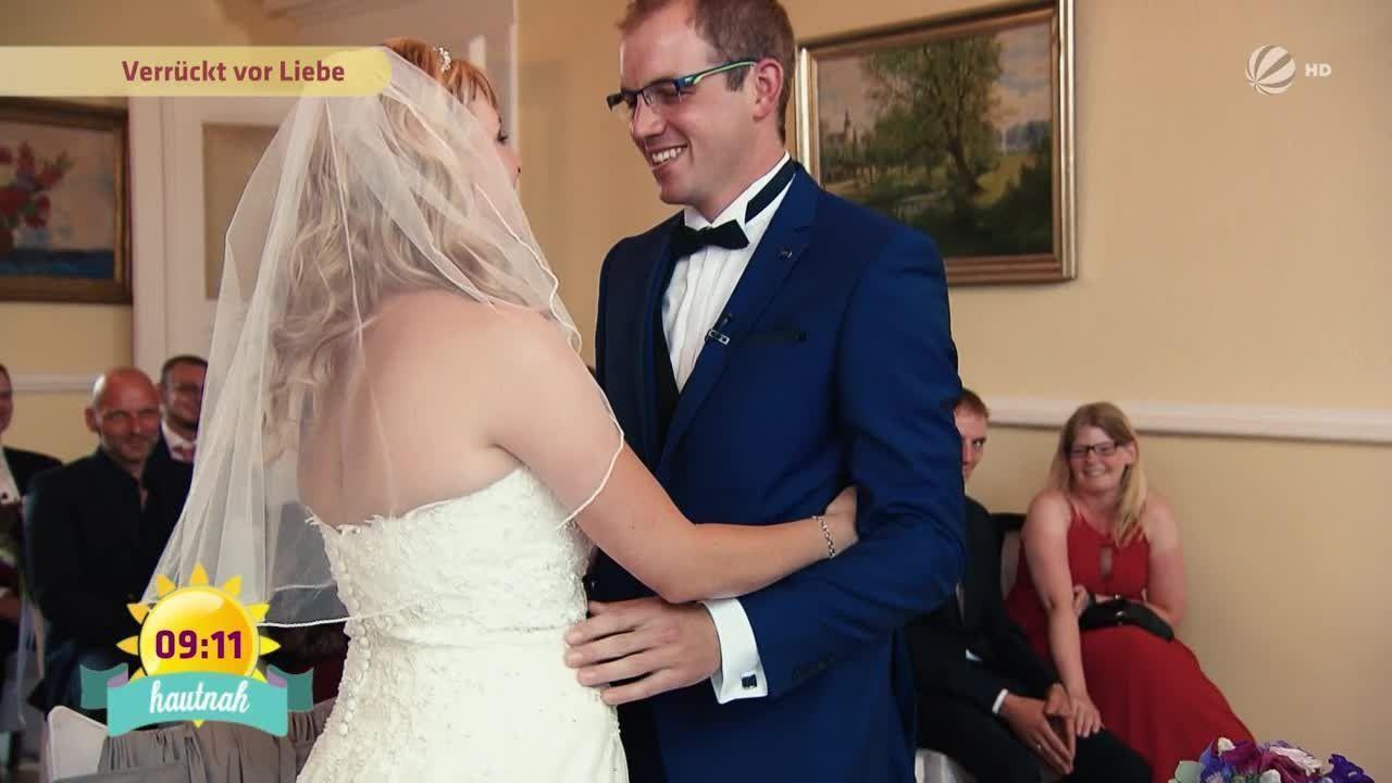 """Hochzeit Auf Den Ersten Blick Sandra Und Sebastian  Happy End für Sandra und Sebastian bei """"Hochzeit auf den"""