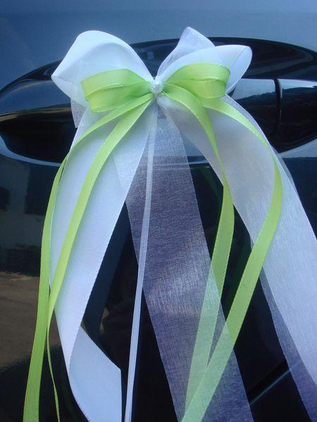 Hochzeit Autoschleifen  SCH0011 10 Antennenschleifen Autoschleife Hochzeit von