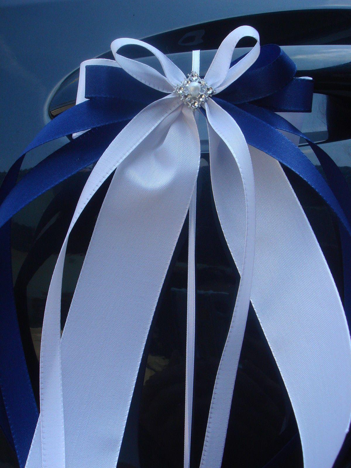 Hochzeit Autoschleifen  10 x Spiegelschleifen Autoschleifen Antennenschleifen