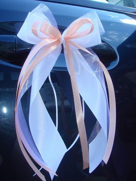 Hochzeit Autoschleifen  SCH0081 10 Antennenschleifen Autoschleife Hochzeit