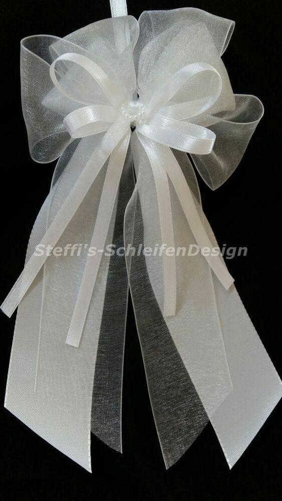 Hochzeit Autoschleifen  10 Antennenschleifen Autoschleifen Antennenschleife