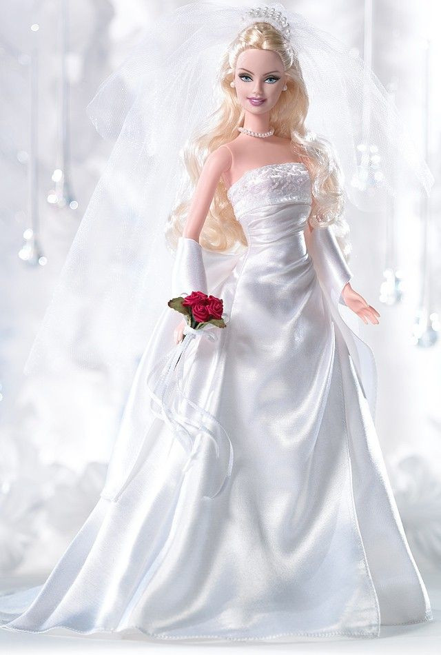Hochzeit Barbie  515 best images about Barbie Wedding Dresses on Pinterest