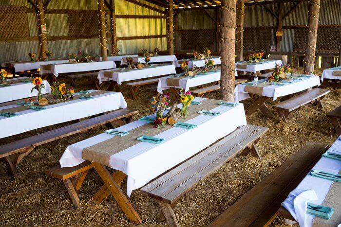 Hochzeit Bauernhof  Hochzeit auf dem Bauernhof