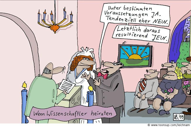 Hochzeit Bilder Comic  Cartoon Wieder Hochzeit