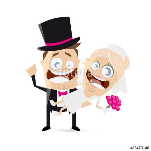 """Hochzeit Bilder Comic  """"hochzeit lustig cartoon"""" Stockfotos und lizenzfreie"""