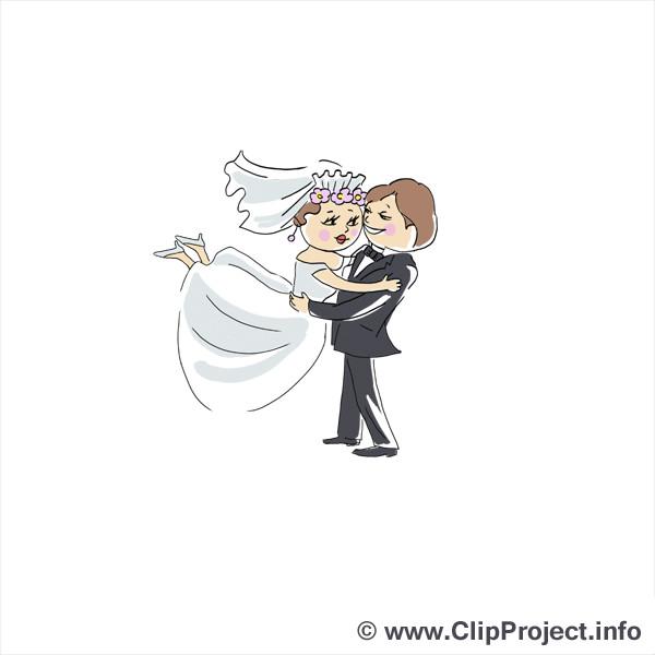 Hochzeit Bilder Comic  Brautpaar ic Cliparts
