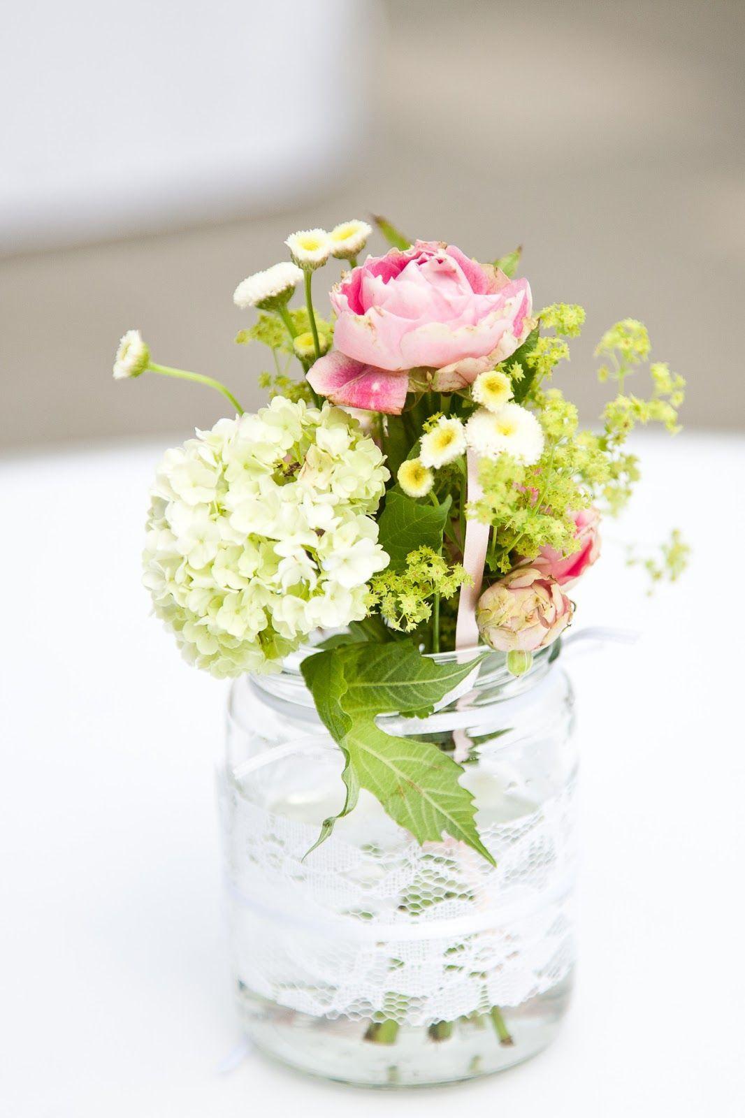 Hochzeit Blumen Tischdeko  Blumen Tischdeko