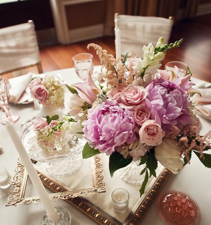 Hochzeit Blumen Tischdeko  Schicke und günstige Blumen Tischdeko zu Ihrer Hochzeit