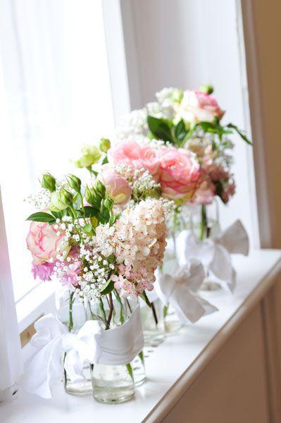 Hochzeit Blumendeko  Blumendeko Vintage Hochzeit 1001hochzeiten