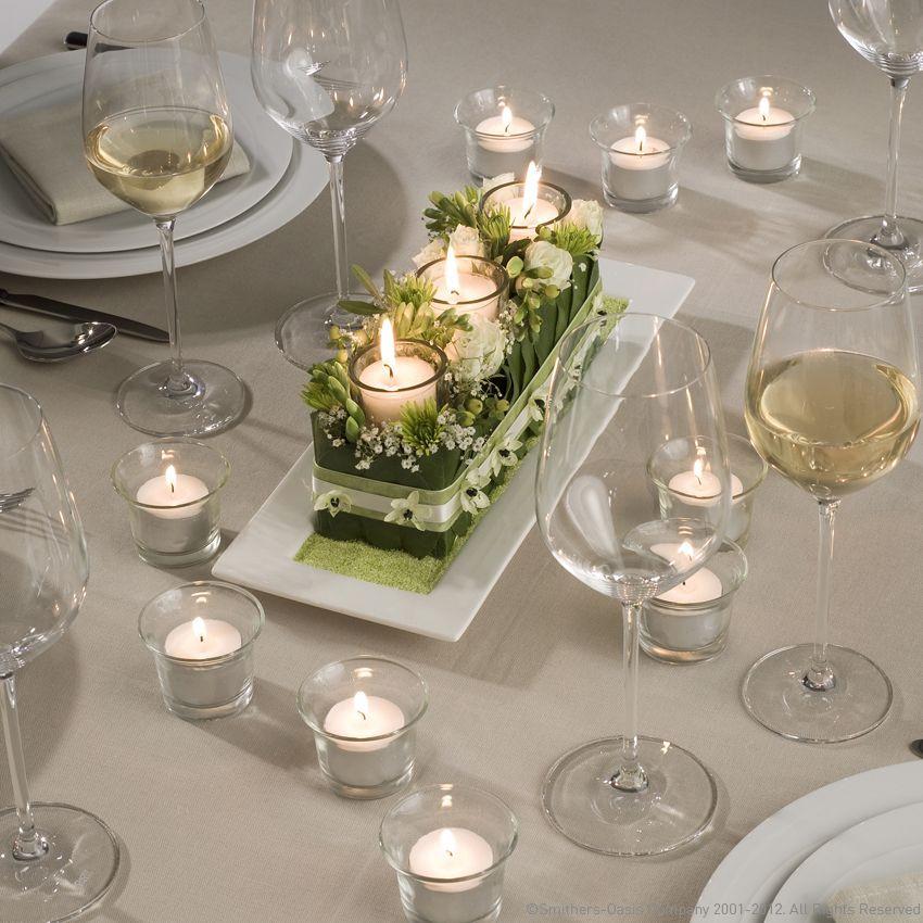 Hochzeit Blumendeko  Tischdeko Hochzeit Blumendeko