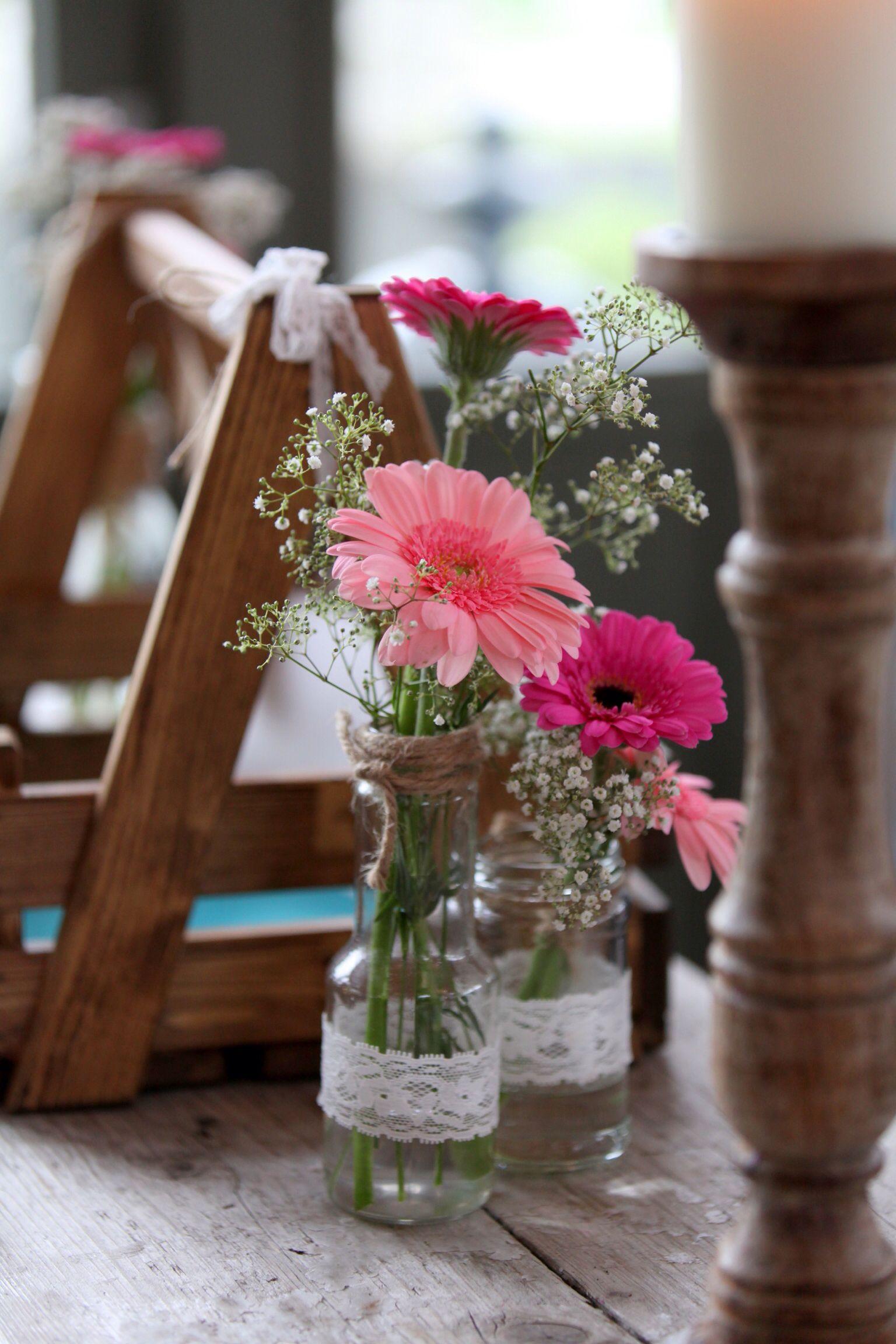 Hochzeit Blumendeko  Tischdeko