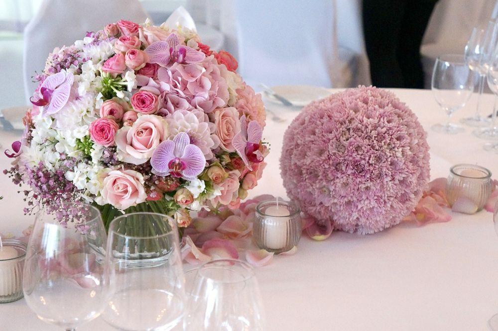 Hochzeit Blumendeko  Blumen Tischdekoration Hochzeitsblumen