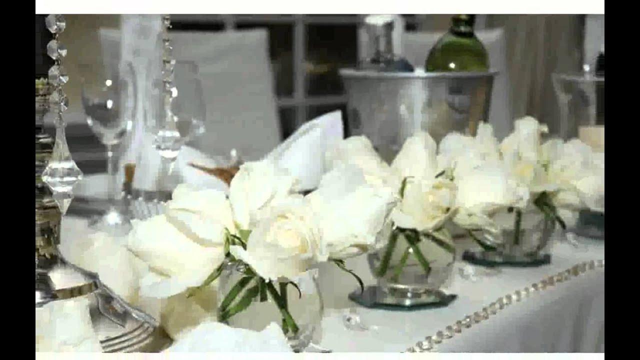 Hochzeit Blumendeko  Blumendeko Tisch Hochzeit bilder