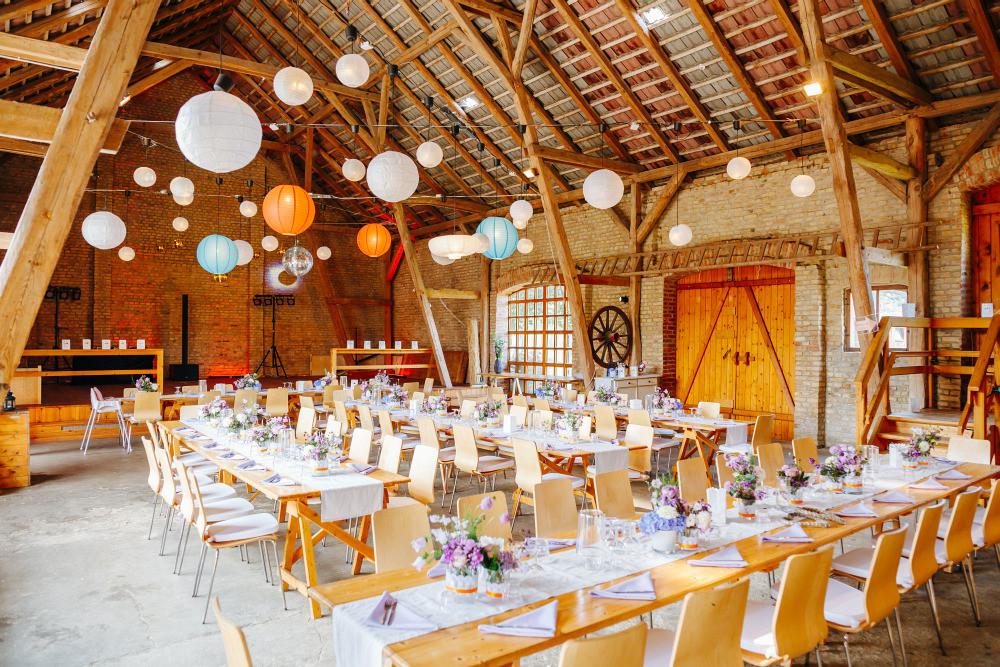 Hochzeit Brandenburg  Scheunenhochzeit in Brandenburg